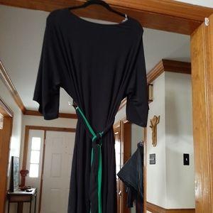 The black dress by MSK